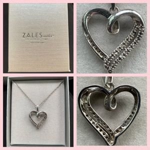 Zale's Heart Necklace in Box Valentine's Day Gift
